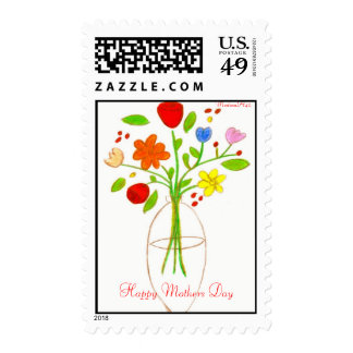 Happy Mothers Day Postage Stamps