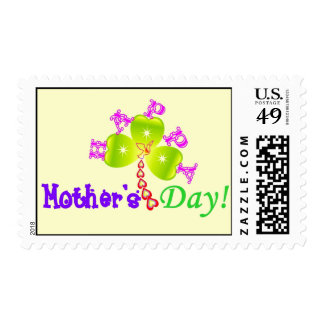 """♫☆♥""""Happy Mother's Day"""" Postage Stamp☆♥♪"""
