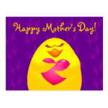 Happy Mother's Day, postcard