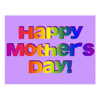 Happy Mothers Day! Postcard