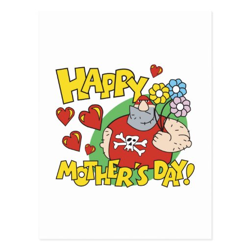 Happy Mothers Day Postcard