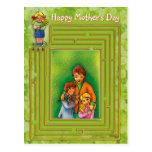 Happy Mother's Day - Postcard template
