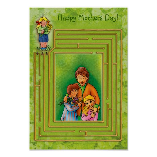 Happy Mothers Day! Poster Template