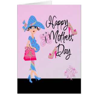 Happy Mothers Day Pregnant Mom Card