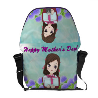 Happy Mother's Day Present (Customizable) Courier Bag