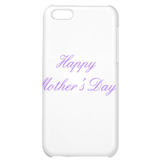 Happy Mother's Day Purple The MUSEUM Zazzle Gifts iPhone 5C Case