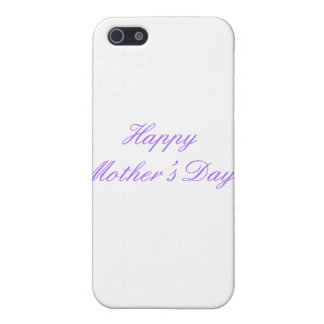 Happy Mother's Day Purple The MUSEUM Zazzle Gifts iPhone 5 Cover
