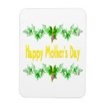 Happy Mothers Day Rectangle Magnet