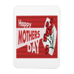 Happy Mothers Day Rectangular Magnet