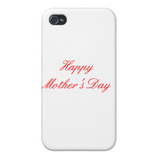 Happy Mother's Day Red The MUSEUM Zazzle Gifts iPhone 4/4S Covers