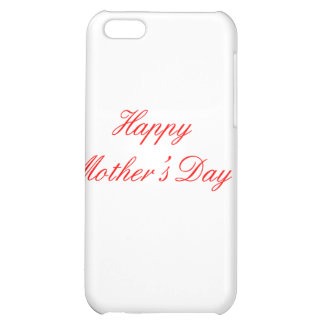 Happy Mother's Day Red The MUSEUM Zazzle Gifts iPhone 5C Cover