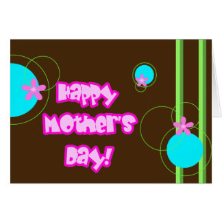 Happy Mother's Day, Retro 2 Card
