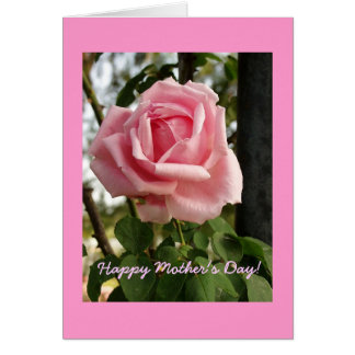 """""""Happy Mother's Day Rose"""" Greeting Card"""