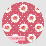 Happy Mother's Day Roses Stickers