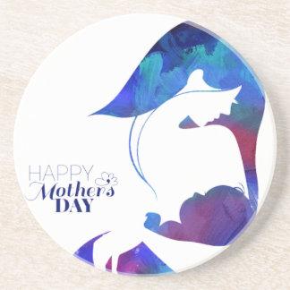 Happy Mother's Day Sandstone Coaster