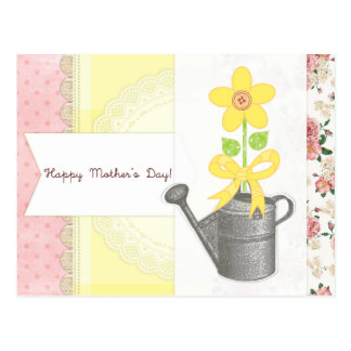 Happy Mother's Day - Scrapbook-Themed Postcard