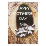"""""""HAPPY MOTHERS' DAY SIS"""" GREETING CARD"""