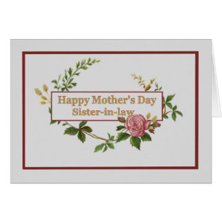 Happy Mothers Day Sister Gifts on Zazzle