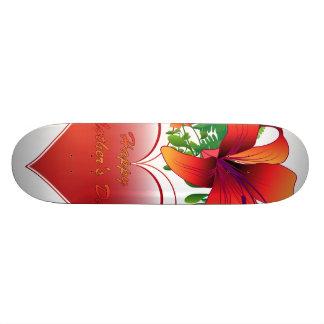 Happy mother's day skate board