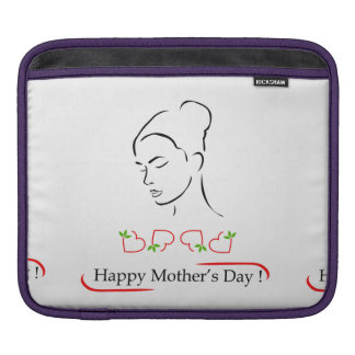 Happy mothers day sleeve for iPads