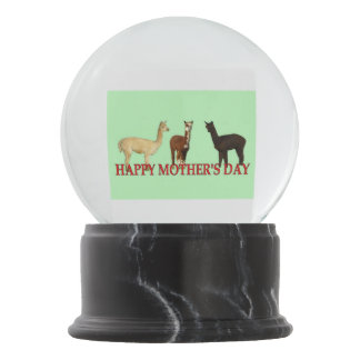 Happy Mothers Day Snow Globe