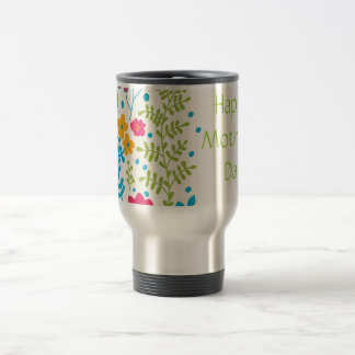 Happy Mother's Day Spring Flowers Coffee Mug