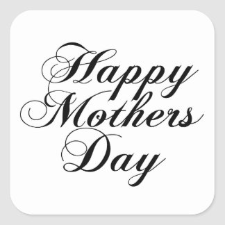 Happy Mothers Day Square Sticker