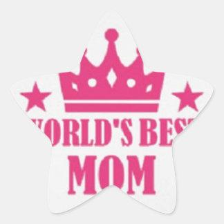Happy Mother's Day Star Sticker