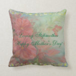 """Happy Mother's Day Stepmother """"Loving Stepmother"""" Throw Pillow"""