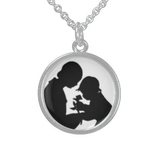 HAPPY MOTHER'S DAY STERLING SILVER NECKLACE