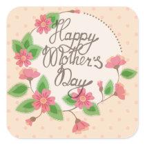 Happy Mother's day sticker vintage