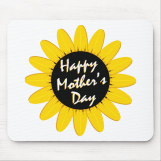 Happy Mother's Day Sunflower Mouse Pad