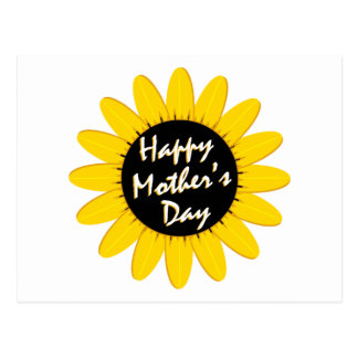 Happy Mother's Day Sunflower Postcard
