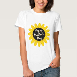 Happy Mother's Day Sunflower T-shirt
