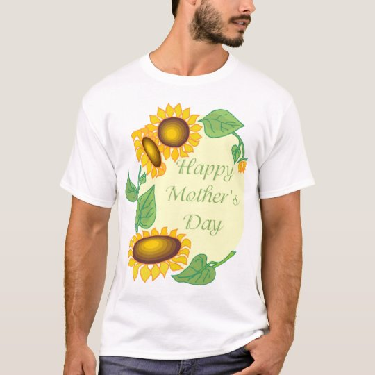 Happy Mother's Day Sunflower Tees