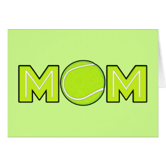 Happy Mother's Day Tennis Mom Card