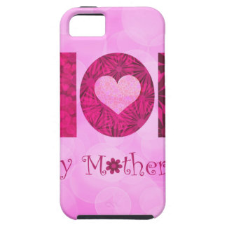 Happy Mothers Day Text Floral Background iPhone SE/5/5s Case
