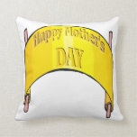 Happy Mothers Day Throw Pillows