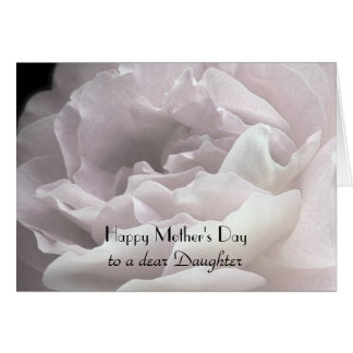 Happy Mother's Day to Daughter, Rose Petals Card