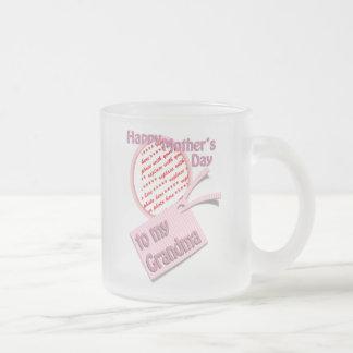 Happy Mother's Day to Grandma Photo Frame Coffee Mug