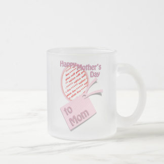 Happy Mother's Day to Mom Photo Frame Mugs