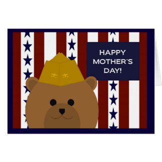 Happy Mother's Day to My Naval Aviator Hero & Mom! Card