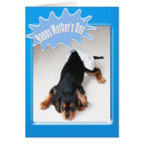 Happy Mother's Day To New Mom Diaper Changing Card