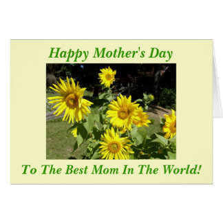 Happy Mother's Day, To The Best Mom In... Card
