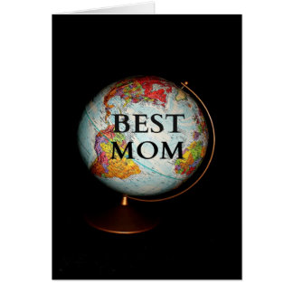 """Happy Mother's Day To The Best Mom On Earth"" Card"