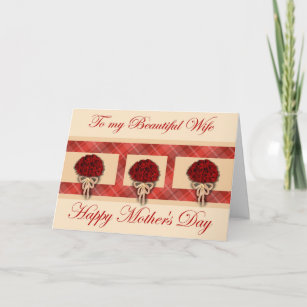 from husband to wife mothers day cards zazzle