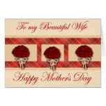 Happy Mother's Day to Wife from Husband Cards