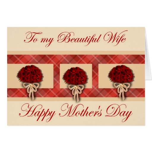 Terrible image in free printable mothers day cards from husband to wife