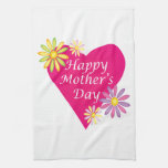 Happy Mothers Day Towel