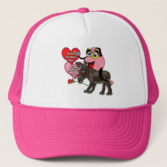 Happy Mothers Day Trucker Hat
